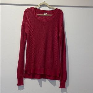 Mossimo Bright Pink Sweater (L)